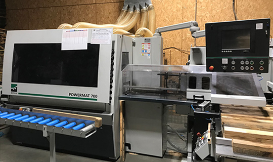 Acquisition d'une nouvelle machine de production des fonds